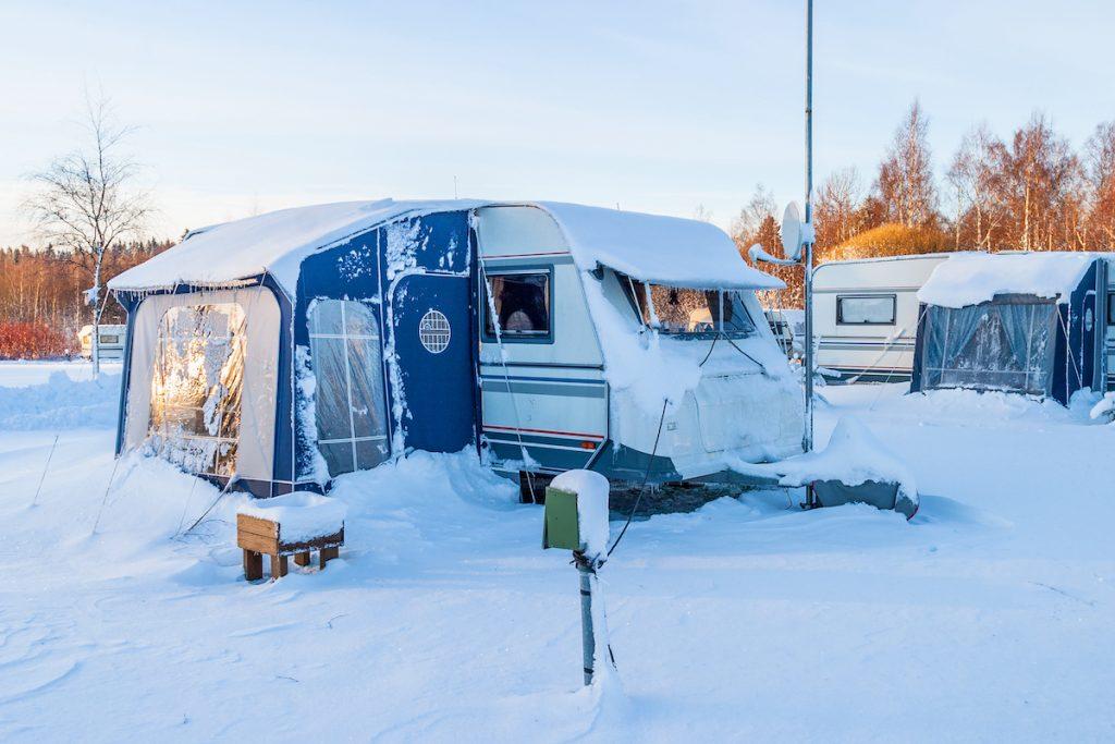 Warmda Heater Caravan Banner