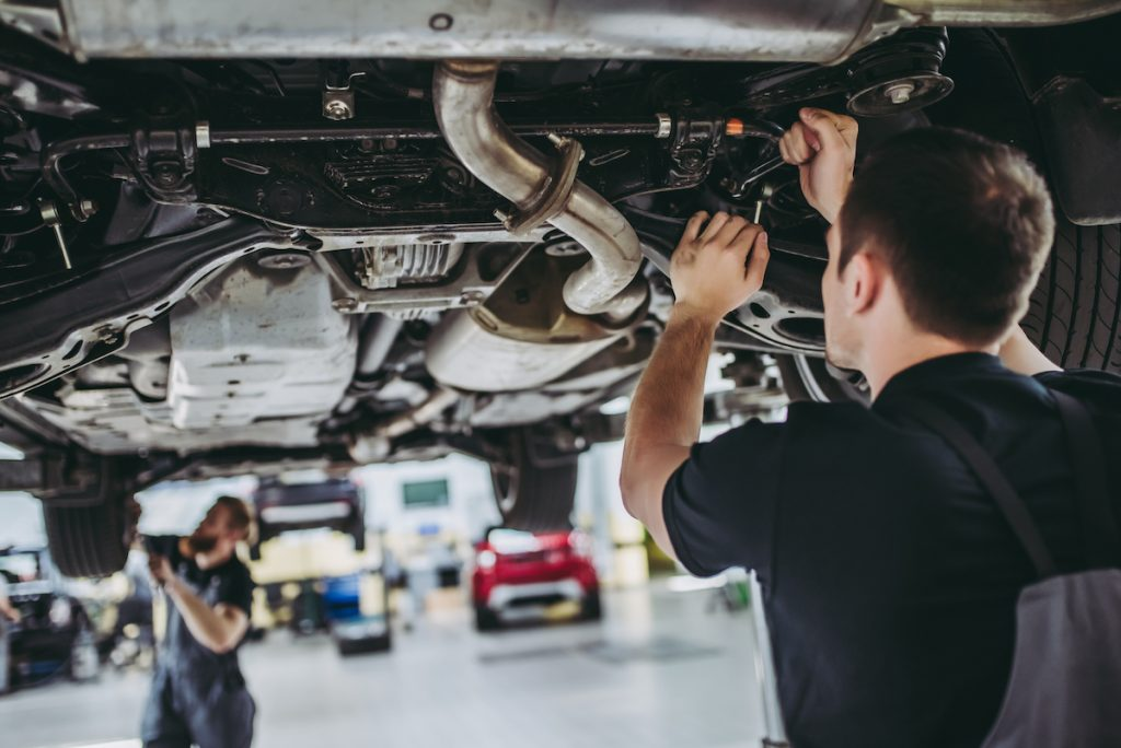 Repair vehicle chassis
