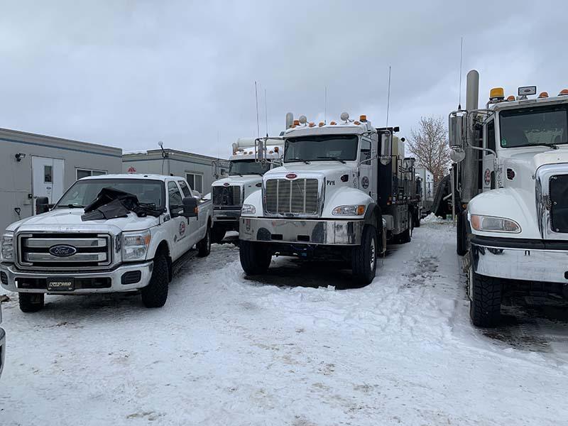 Truck with Warmda heaters
