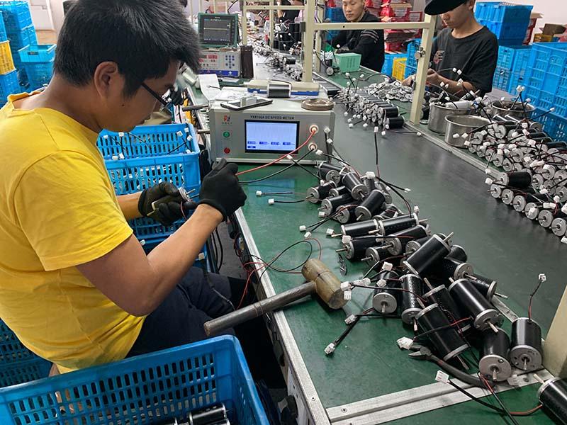 Warmda Heater Motor Production Line